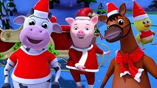 père noël doigt famille | Noël chansons | Père Noël pour enfants | Santa Finger Family in French