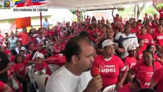 Consulta Plan de Presupuesto Participativo 2014 - Paq. Chirica - Municipio Caroní - Edo. Bolívar