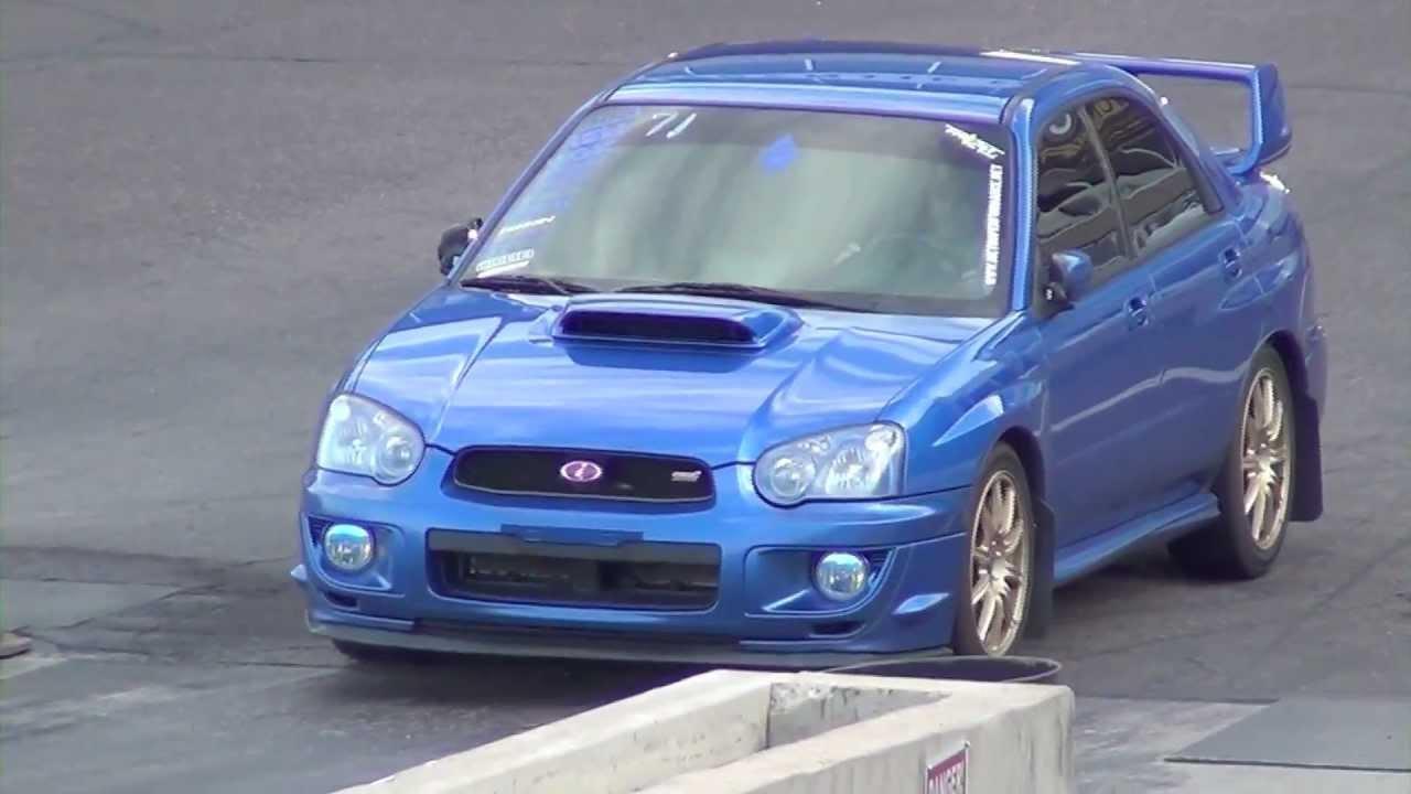 Subaru Wrx Sti With Wing Vs Subaru Wrx Sti Without Wing