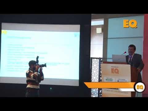 Brajesh Kumar Sinha, VP-BD, Fourth Partner Energy at EQ Solar Assets Conference, Delhi