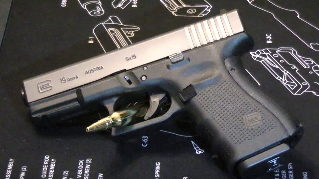 glock 19 gen 4 holster to nightstand to range youtube