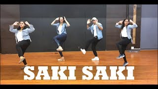Saki Saki | Batla House | CurlyGrooves | BollyBeats Fitness Choreography ft. Benjamin