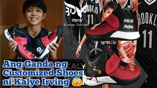 Ang mabangis na Customized Shoes ni Kalye Irving