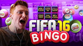 FIFA 16 - FIFA BINGO!!! | THE BENDTNER BOMB!!!