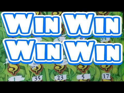 4 Wins. $30 Extreme Green Pa lottery scratch tickets