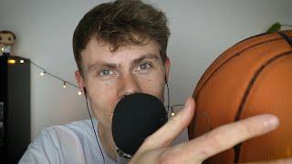 ASMR Basketball Tingles 🏀 – Relaxing Trigger Assortment