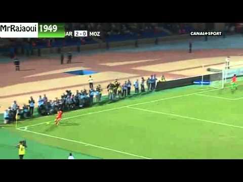 2eme MiTemps :Maroc 4-0 Mzambique -CAN 2013