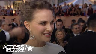 SAG Awards 2017: Natalie Portman On Celebrating 'Jackie' With Baby No. 2 On The Way