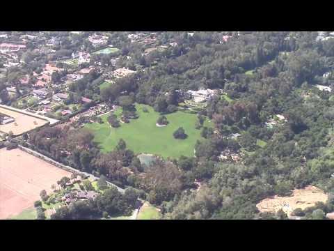Views Of Oprah Winfrey's $85 Million Santa Barbara Mansion Before Mudslides