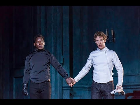 National Theatre Live: Hamlet | Behind the scenes curtain call