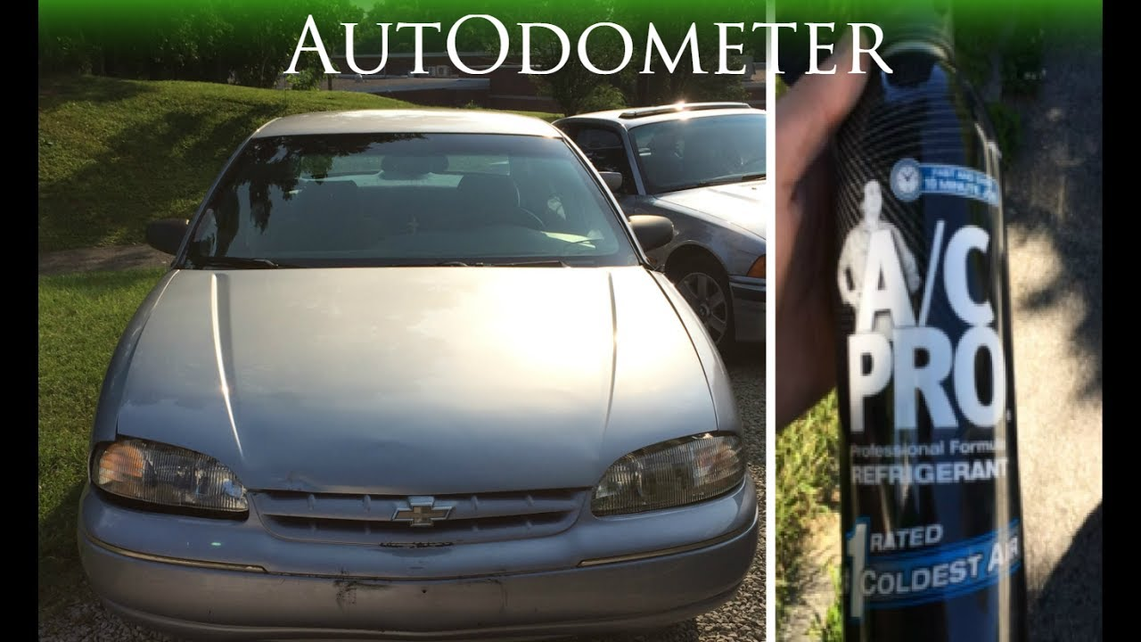 How To Add Refrigerant To Chevy 1997 Chevy Lumina Youtube