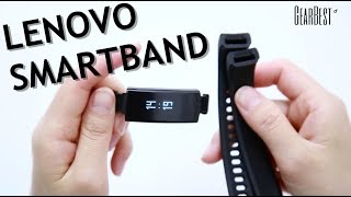 Best Gadget to Keep Fit and Healthy? Lenovo HX06 Smartband! - GearBest