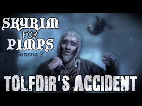 Skyrim For Pimps - Tolfdir's Accident (S2E05) College of Winterhold Walkthrough