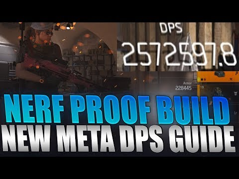 The Division 2 - NEW Nerf Proof Best DPS Build Guide! Any Gun 2.7 Mil DPS