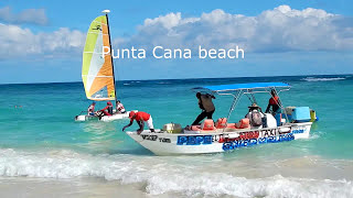 BEACH Walk in Punta Cana Dominican Republic - Just another Awesome Day!
