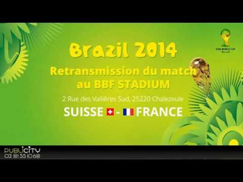 Match Suisse - France au BBF STADIUM