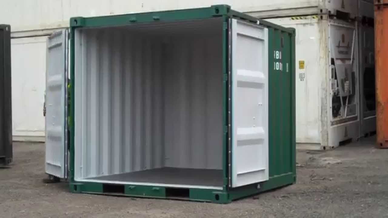 8ft Shipping Container For Sale Www Bullmanscontainers