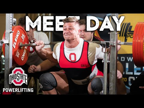 FIRST POWERLIFTING MEET W/ Ohio State Powerlifting Club | 1582 Lb Total 105kg Class