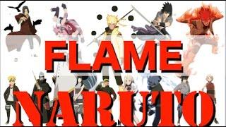 NARUTO忍界大戦 ED 【FLAME】 DISH// 「補足」 NARUOT -ナルト-歴代(主...