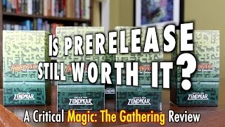 mtg is prerelease still worth it? a critical magic the gathering review