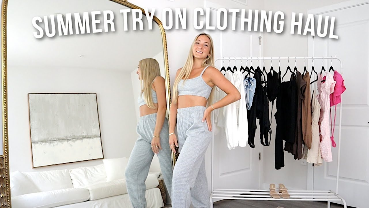 SUMMER TRY-ON CLOTHING HAUL | my favorite clothes!!!