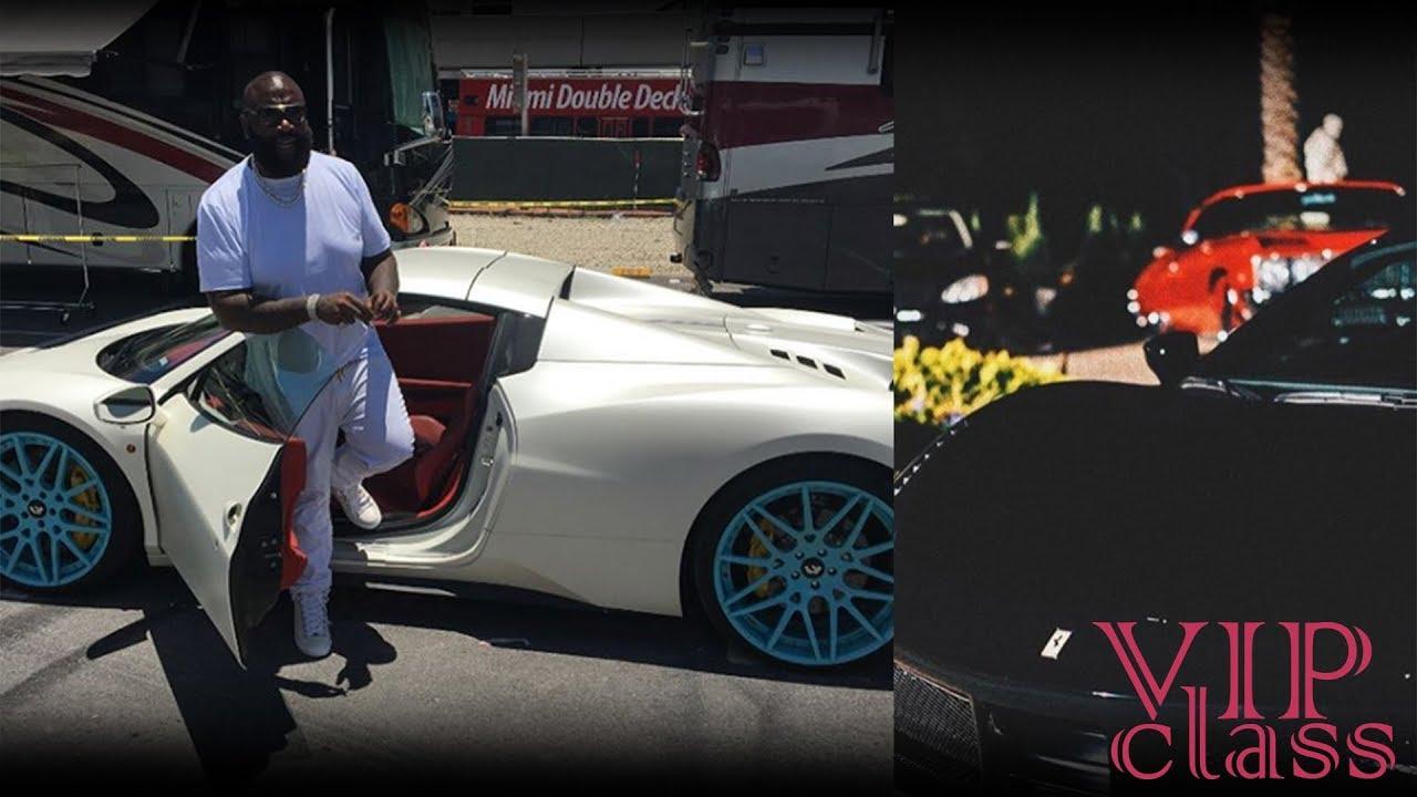 Rick Ross Cars Ferrari Rolls Royce Lamborghini Maybach Bentley Youtube