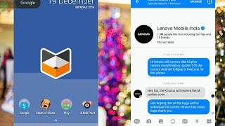 Lenovo Vibe K5/+ Officially Marshmallow Update Confirmed in India