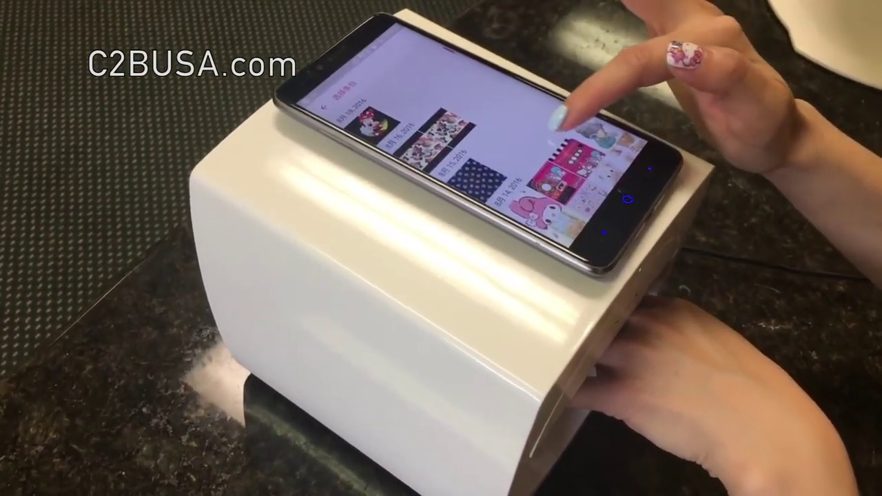 O'2nails Digital Mobile Nail Art Printer 2019 - YouTube