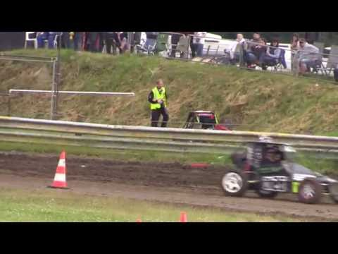scunny autograss bas rd 2 phil cooper class 8  massive roll