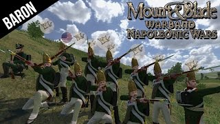 The RUSSIANS are Coming!!!  Mount and Blade Warband Napoleonic Wars Gameplay