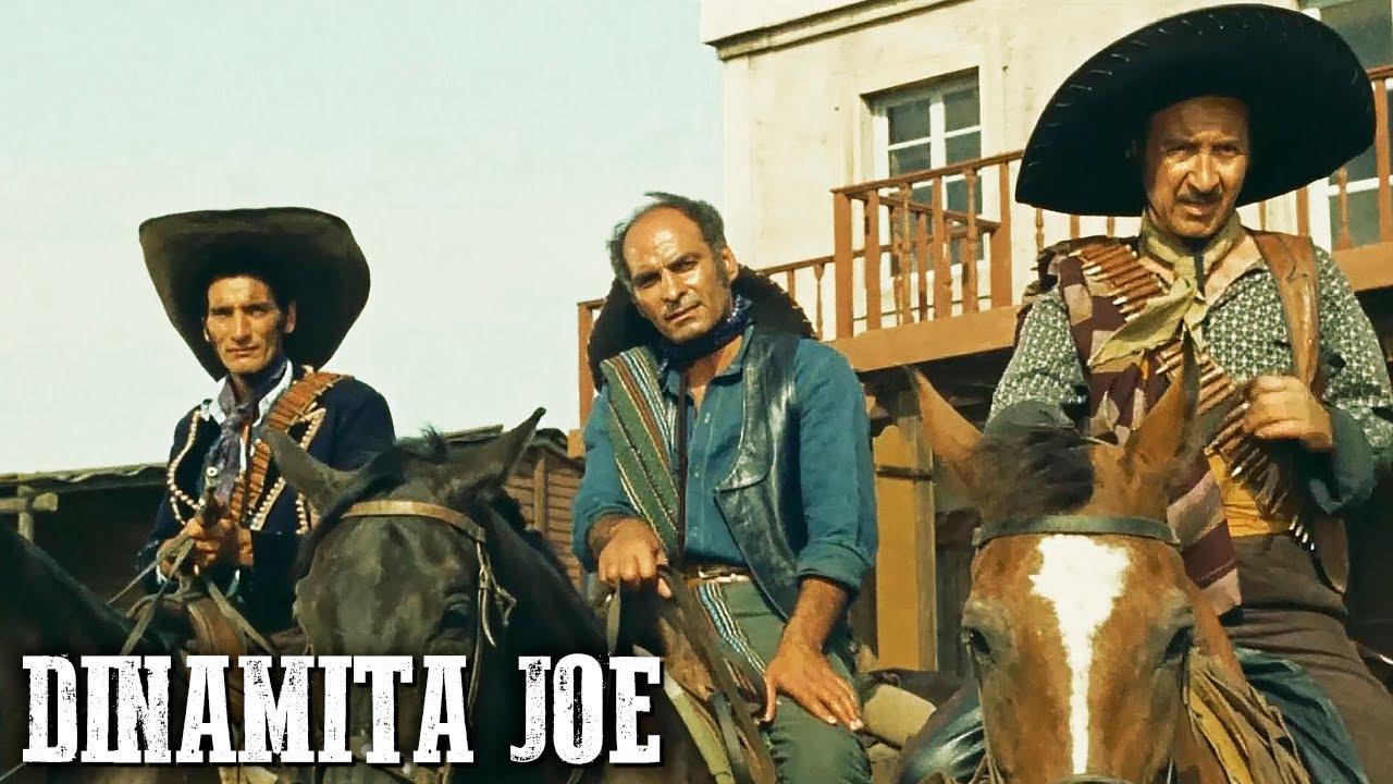 Dinamita Joe   RIK VAN NUTTER   Película de Vaqueros   Salvaje Oeste   Occidental   Español