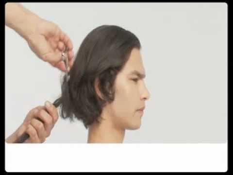 Мужская стрижка. Элегантная простота. Hair tutorial