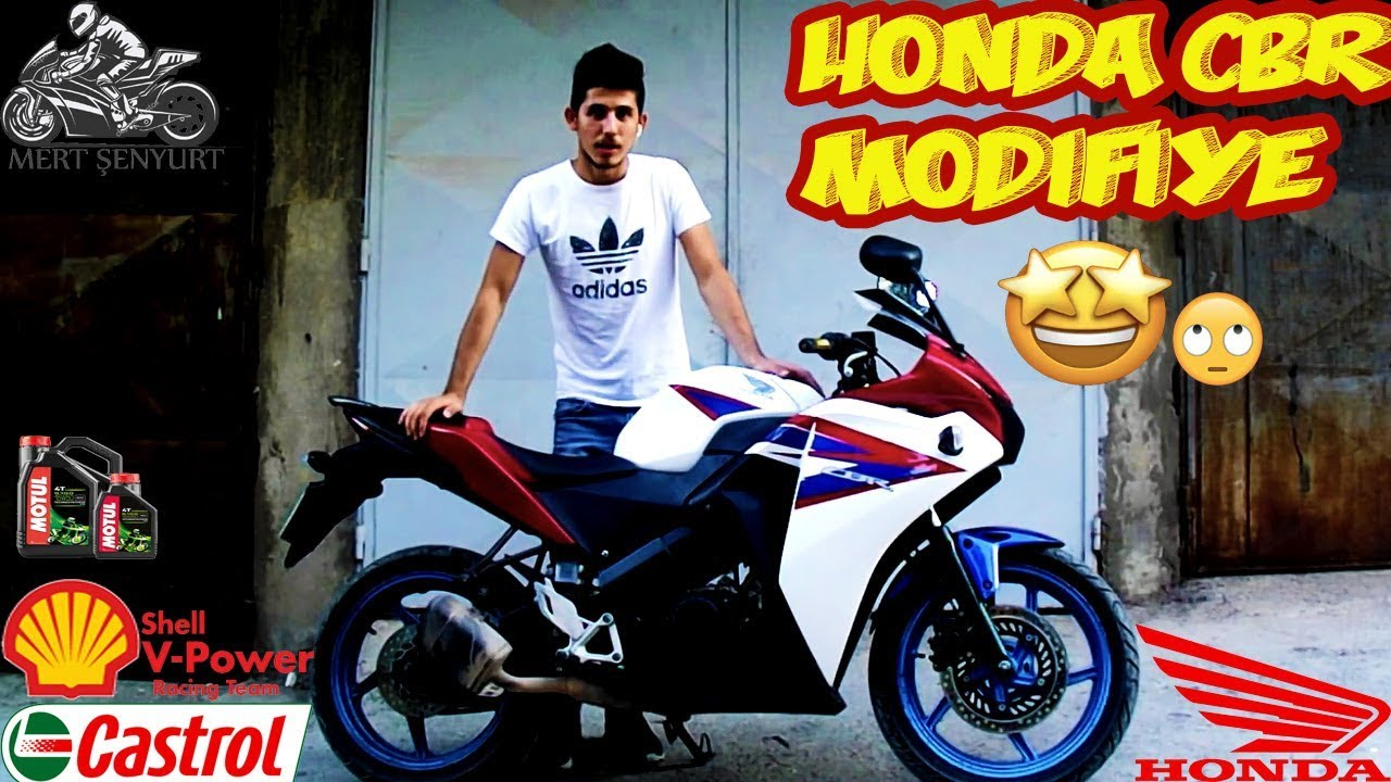 Honda Cbr 125r Boyama Modifiye Kaplama çizikleri Silme Aber Honda