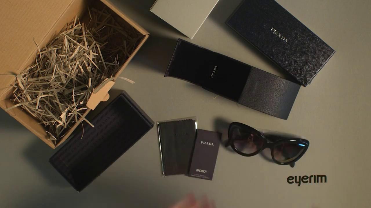 651ade9033d eyerim presents  Unboxing of Prada PR08RS 1AB0A7 sunglasses - YouTube