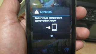 Battery Over Temperature Remove the Charger (SOLVED)100% working