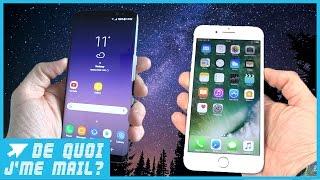 Le Galaxy S8 est-il meilleur que l'Iphone 7 ?  DQJMM (2/3)
