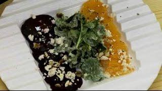 Beet, Feta And Orange Salad
