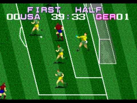 Tecmo World Cup (Sega Genesis / Megadrive)
