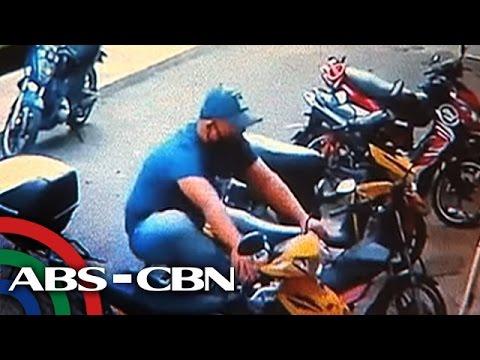 TV Patrol: Pagnanakaw ng motorsiklo sa ospital sa QC, sapul sa CCTV