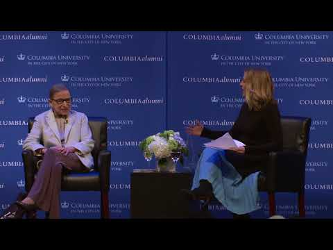 Associate Justice Ruth Bader Ginsburg at She Opened the Door, Columbia University Women's Conference