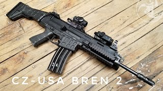 CZ-USA BREN 2 - FIRST LOOK!