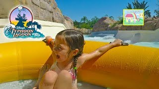 Hailey goes to Typhoon Lagoon Water Park in Orlando, Florida! Family Vlog