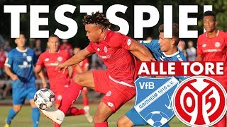 Testspiel Highlights | VfB Ginsheim - 1. FSV Mainz 05 | 05er.tv