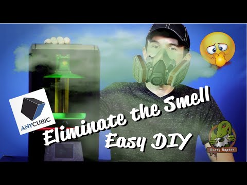 Eliminate the Smell on AnyCubic Photon DLP / SLA Printer