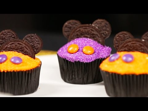 Mickey Mouse Halloween Cupcake Decorating | Disney Family
