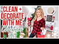 NEW CLEAN + DECORATE WITH ME FOR CHRISTMAS  ✨🎄 CHRISTMAS DECOR 2019 HOME TOUR PART I Brianna K