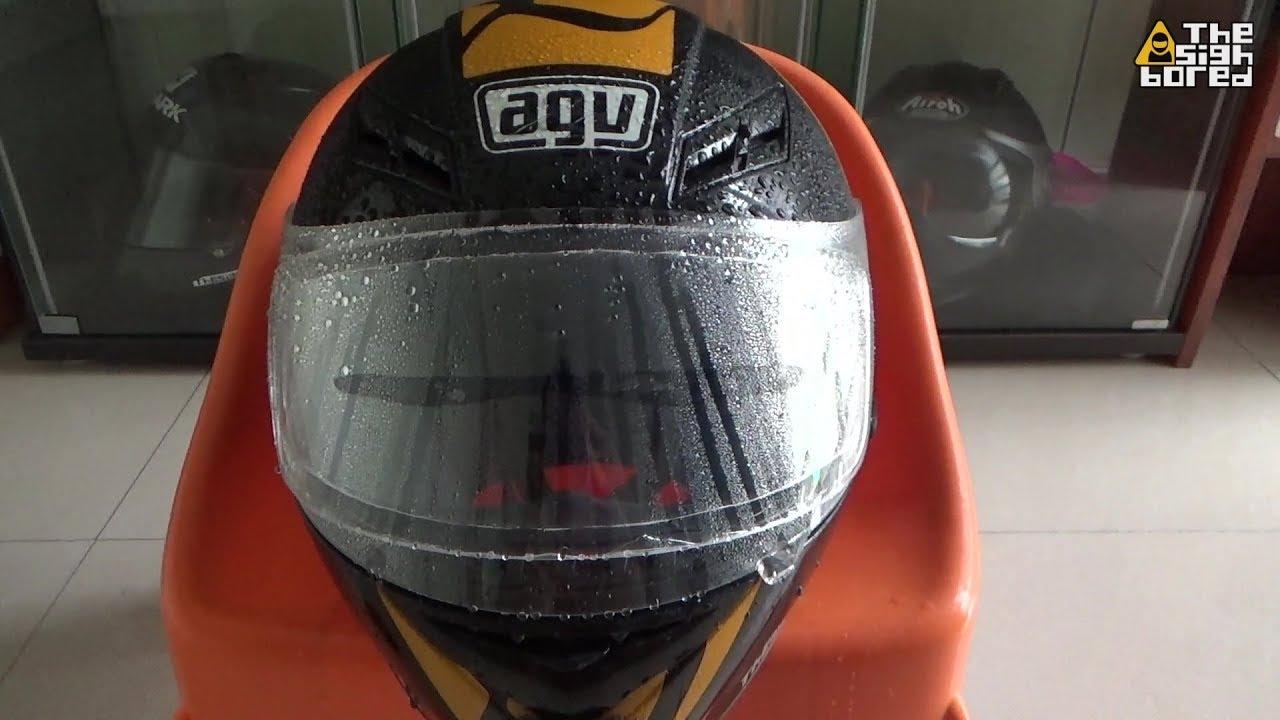Keenso Motorcycle Helmet Waterproof Lens Film,Universal Helmet Anti Fog Film Visor Shield