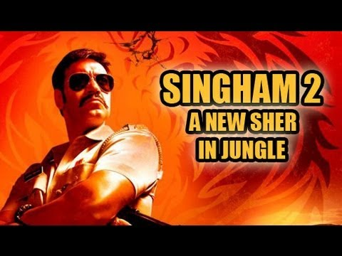 Rohit Shetty's Singham 2 - New Sher In The Jungle - YouTube