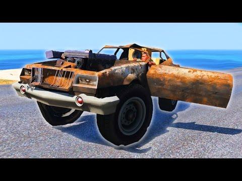 DRIVE SCRAP CARS & VEHICLES IN GTA 5!