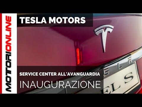 Tesla Service Center Milano - Inaugurazione